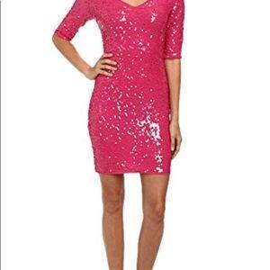 BCBG Maxazria Maura Sequin Dress